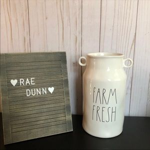 Rae Dunn Farm Fresh Vase